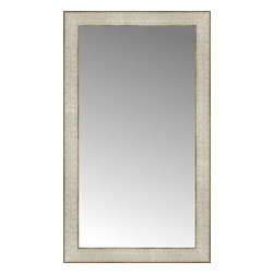 "Posters 2 Prints, LLC - 16"" x 27"" Libretto Antique Silver Custom Framed Mirror - 16"" x 27"" Custom Framed Mirror made by Posters 2 Prints. Standard glass with unrivaled selection of crafted mirror frames.  Protected with category II safety backing to keep glass fragments together should the mirror be accidentally broken.  Safe arrival guaranteed.  Made in the United States of America"