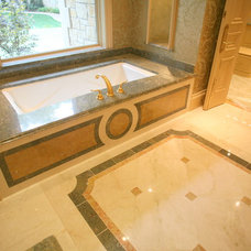 Traditional Bathroom by The Granite Shop