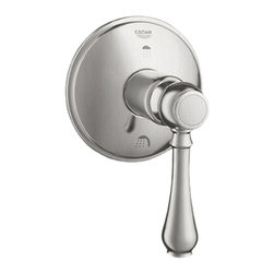 Grohe - Grohe 19220EN0 Polished Nickel - Lever Handle Geneva 3 Port Diverter Trim - Grohe 19220En0 Polished Nickel - Lever Handle Geneva 3 Port Diverter Trim