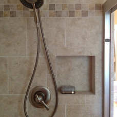 Contemporary Tile by Kitchen / Fashion Plumbing Dept.