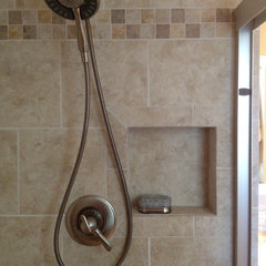 contemporary bathroom tile by LOWE'S 1590