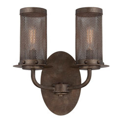Screened-In Industrial Wall Sconce -