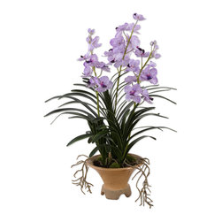 "60007 Blue-blooded Nobility Orchid by Uttermost - Get 10% discount on your first order. Coupon code: ""houzz"". Order today."
