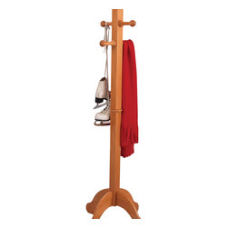 KidKraft - Kidkraft Home Indoor Kids Room Decor Wooden Hanger Portable Clothes Pole Honey - Our kid-sized Clothes Pole has a classic look and makes keeping your child's room tidy as easy as possible. This helpful clothes pole will look great in any young kid's room. Dimension: 19.25x 19.25x 54.75