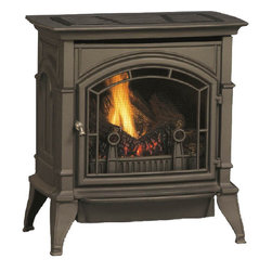 Majestic Products - Majestic CSVF30SNVG CSVF Series Vent-Free Gas Stove - Majestic CSVF30SNVG-Cast 30 Stove Single Door, Graphite, Natural Gas
