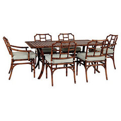 tropical dining tables by Ballard Designs