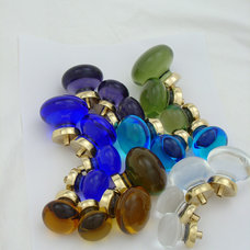 Modern Cabinet And Drawer Knobs by Merlin Glass