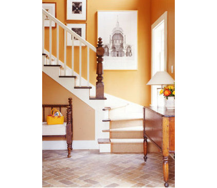 Eclectic  Heather's Foyer Ideabook
