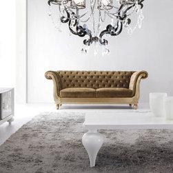 Sperrazza Tufted Sofa Velvet -