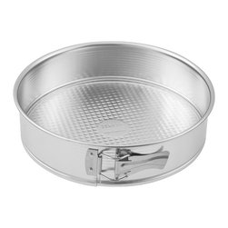 """Frieling - Springform, 7"""", Tin Plated - Sturdy tin-plated steel. Waffle textured bottom promotes easy release when greased. Max temp 450 degrees F. Dishwasher safe."""