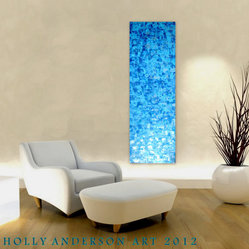 WATER & LIGHT Organic Contemporary Abstract Art for Modern Spaces