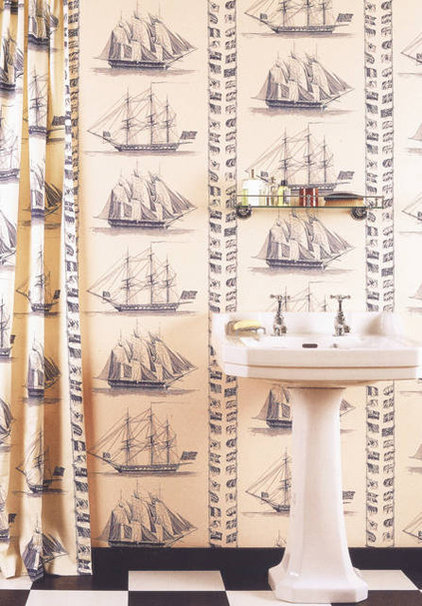 Traditional Wallpaper by lewisandwood.co.uk