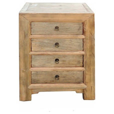 Rustic Side Tables And End Tables by Golden Lotus Antiques