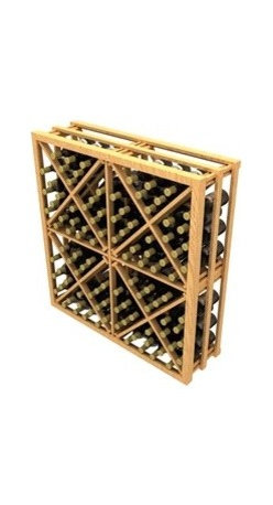 Stackable Diamond Cube Wine Rack - The Stackable Diamond Cube Wine Rack is part of our Stackable Series.