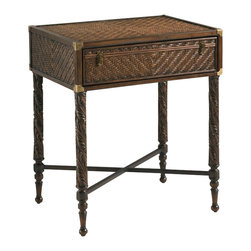 Henry Link - Henry Link Martinique End Table Trunk on Stand in Old Havana - Henry Link - End Tables - 014011713 - About This Product: