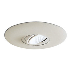 "Nora Lighting - Nora NL-663 6"" Surface Adjustable Eyeball with White Baffle - 6"" Surface Adjustable Eyeball with White Baffle"