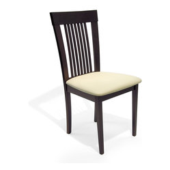 Astra Dining Chair, Coffee, Set of 2