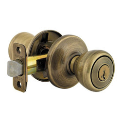 KWIKSET - 400T 5 Smartkey 6Al Rcs Tylo Lock - Tylo Entry lockset with smartkey
