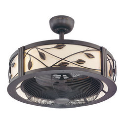 Harbor Breeze Eastview Aged Bronze Ceiling Fan - It gets hot in a small kitchen, so being able to keep the air moving is key. I like to crank the ceiling fan and open a window in the spring or summer if the oven is going strong.