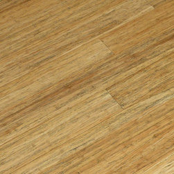 Strand Natural Antiqued Wide Plank Bamboo Flooring - Our new antiqued natural strand woven wide plank flooring is a new take on an old world floor. With its light distressing and soft color this floor makes a new space look seasoned and warm.