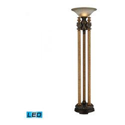Dimond - One Light Athena Bronze Floor Lamp - One Light Athena Bronze Floor Lamp