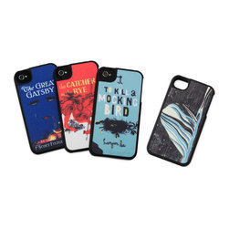 Literary Art iPhone Case - For the literary lover who's become a reluctant technology adopter, give them one of these quirky and classic iPhone case covers!