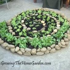 Spiral built rock garden | 5 Home + Garden