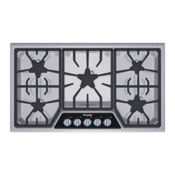 """Thermador Masterpiece 36"""" Gas Cooktop, Stainless Steel 