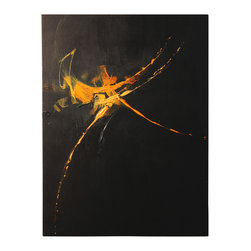 n/a - 'The Dance' Original Painting - Original acrylic abstract painting created on canvas.