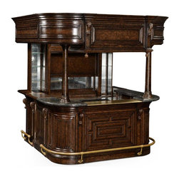 Jonathan Charles - New Jonathan Charles Home Bar Tudor Oak - Product Details