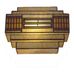Dale Tiffany - Dale Tiffany TH100082 Cube Mission 1 Light Wall Sconces - Cube Mission Wall Sconce