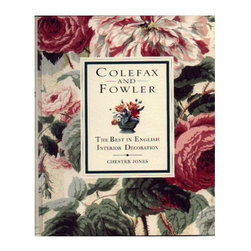 Colefax & Fowler: The Best in English Interior Decoration - This classic book on decorating should have a proud place on every design lovers bookshelf. Prices will vary as the book is currently out of print.