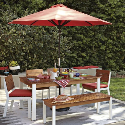 Contemporary Patio Furniture And Outdoor Furniture by West Elm