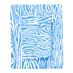 Paul Sheets, Blue - Why not try a fresh spin on zebra?