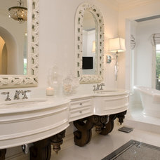 Mediterranean Bathroom by John Kraemer & Sons