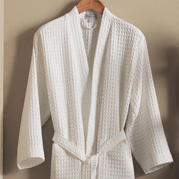 Peacock Alley Monte Carlo Waffle-Weave Robe - There's just something about a soft white robe, especially when they are fresh from the dryer.  Put a couple of these in your guest bedroom and your guests will feel completely spoiled.