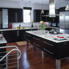 Contemporary Kitchen by EW Kitchens & Extraordinary Works