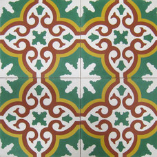 eclectic floor tiles by The Tile Gallery