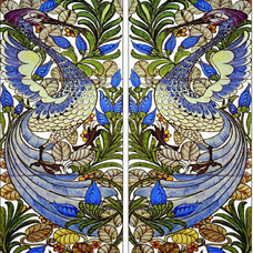 Indoor Fireplaces by William Morris Tile