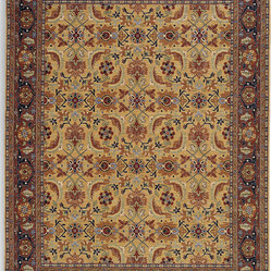 Karastan - Karastan English Manor 2120-00506 Brighton Rug - Partial to the lush, flowering gardens of the English countryside? You can bring that look indoors with this exquisite area rug. The warm tones and intricate details give your space a vintage look.