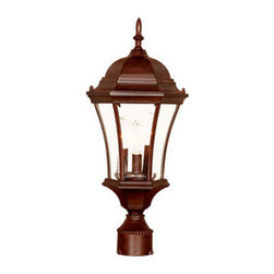 "Acclaim Lighting - Acclaim Lighting 5027 Bryn Mawr 3 Light 21"" Height Post Light - Acclaim Lighting 5027 Bryn Mawr Three Light 21"" Height Post LightHandsome post lantern from the Bryn Mawr Collection will be a reliable source of exterior illumination for years.Acclaim Lighting 5027 Features:"