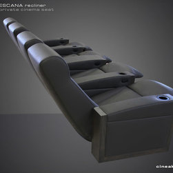 Luxury Home Theater Seat. The Escana. - REDEFINING CUSTOM THEATER SEATING