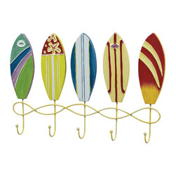 Sterling Industries - Sterling Industries 129-1043 Surfboard Wall Hooks - Wall Hook (5)