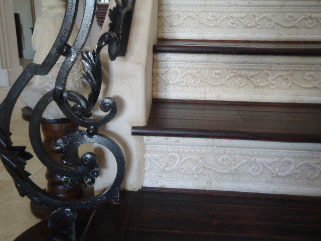 Mediterranean Staircase by Anisa Interiors