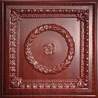 Evangeline Cherry Wood Ceiling Tiles -
