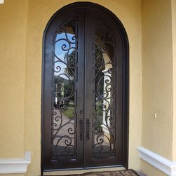 Forge Iron Designs Wrought Iron Doors -