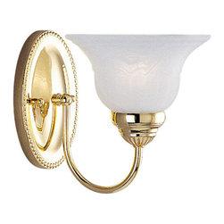 Livex Lighting - Livex Lighting 1531-02 Bath Light - Glass Type/Shade Type: White Alabaster Glass
