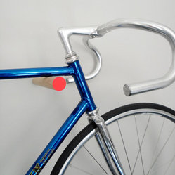 Wooden Bike Hook by Sandra Thomsen