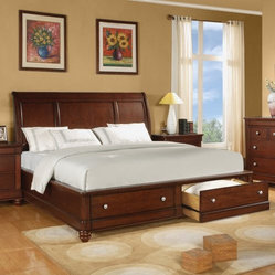 Olmsted Panel Storage Bed Set