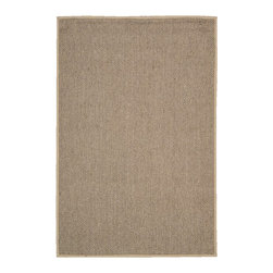 Calvin Klein Home - Calvin Klein Home CK207 Kerala CKS02 9' x 12' Taupe Area Rug 15061 - In a serene taupe palette.that has movement of hues, a story of color and striking style meets substance in this understated sisal rug. Made from the agave plant this eco-friendly, marvelously-textured rug is about both ease and timelessness.